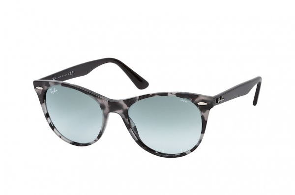 Очки Ray-Ban Wayfarer II Evolve RB2185-1250-AD Spotted  Grey / Black | Blue Photocromic