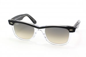 Очки Ray-Ban Wayfarer II RB2143-919-32 Black/Transparent Grey Gradient