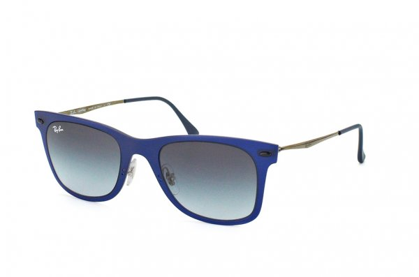 Очки Ray-Ban Wayfarer LightRay RB4210-895-8G Blue  | Grey Gradient