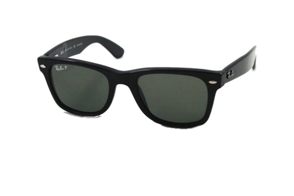 Очки Ray-Ban Wayfarer RB2113-901-48 Black | Natural Green Polarized