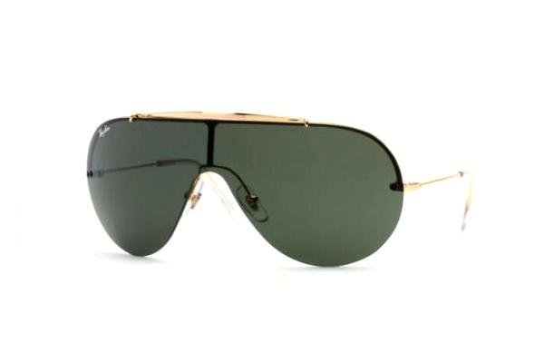 Очки Ray-Ban Wings II Oval RB3143-001-71 Arista | APX Grey/Green