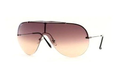 Очки Ray-Ban Wings II Oval RB3143-004-13 Gunmetal | Poly. Gradient Brown