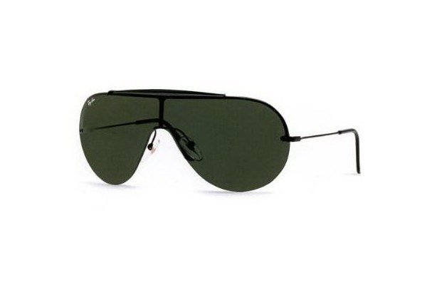 Очки Ray-Ban Wings II Oval RB3143-006-71 Matt Black | APX Grey/Green