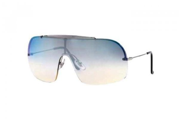 Очки Ray-Ban Wings II RB3160-003-Z1 Silver | Light Blue Gradient