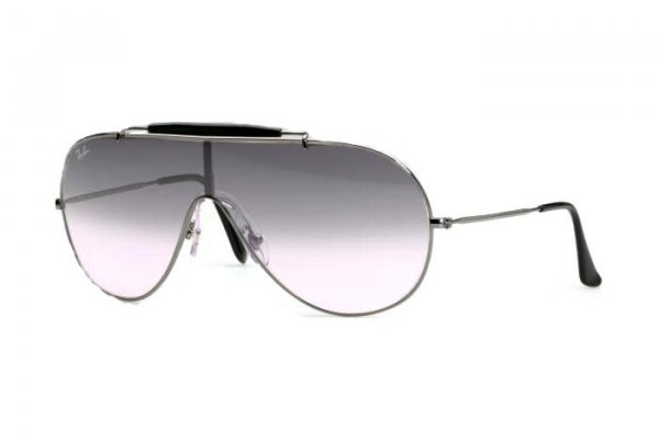 Очки Ray-Ban Wings RB3197-003-Z1 Silver | Light Blue Gradient