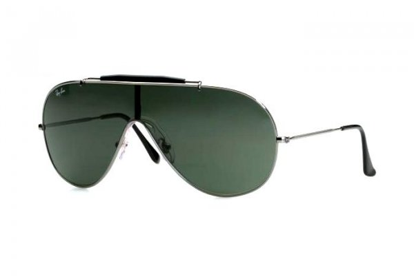 Очки Ray-Ban Wings RB3197-004-71 Gunmetal | Grey-Green