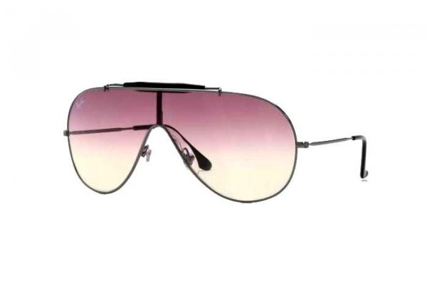 Очки Ray-Ban Wings RB3197-004-8D Gunmetal | Violet Gradient
