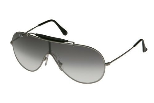 Очки Ray-Ban Wings RB3197-004-8G Gunmetal | Gradient Grey