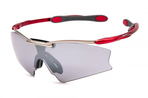 Очки Ray-Ban Xrays RB3258-019-6V Gunmetal/Red | Grey Mirror