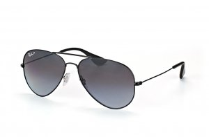 Очки Ray-Ban Youngster Aviator RB3558-002-T3 Black | Gradient Grey Polarized