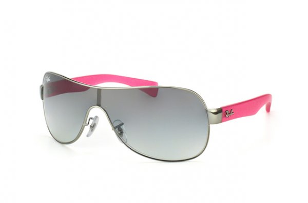 Очки Ray-Ban Youngster RB3471-004-11 Gunmetal / Pink Rubber | Grey Gradient