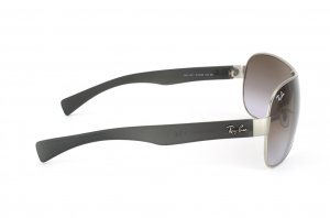 Очки Ray-Ban Youngster RB3471-019-68 Matte Silver/Dark Grey Rubber/APX Brown Faded Violet