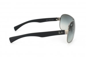Очки Ray-Ban Youngster RB3471-029-11 Matte Gunmetal/Black Rubber Temple | Faded Grey