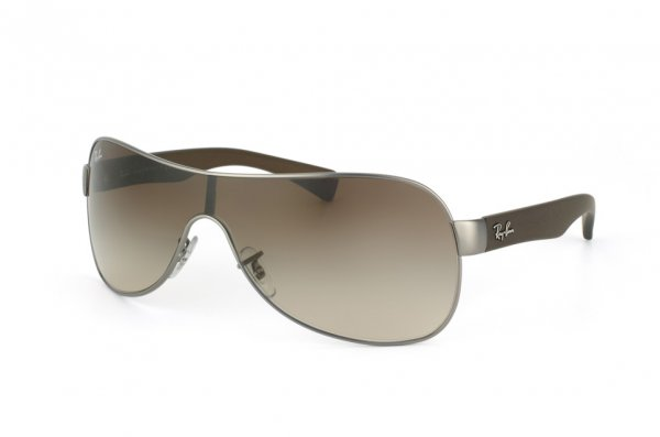 Очки Ray-Ban Youngster RB3471-029-13 Matte Gunmetal/Brown Rubber Temple/APX Gradient Brown