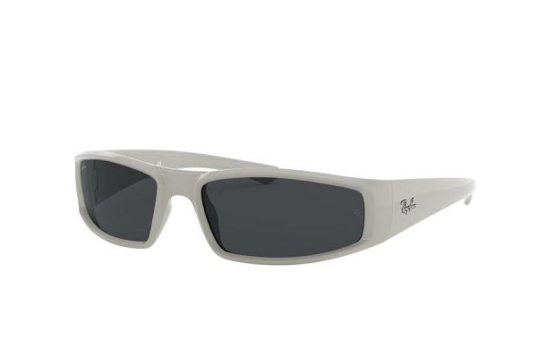 Очки Ray-Ban Youngster RB4335-6488-87 White | Dark Grey