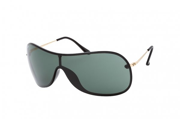 Очки Ray-Ban Youngster RB4411-601-71 Black / Arista | Green / Grey