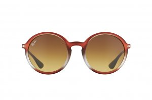 Очки Ray-Ban Youngster Round RB4222-6224-13 Brown Gradient | Faded Brown