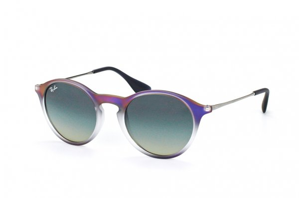 Очки Ray-Ban Youngster Round RB4243-6223-11 Violet Gradient | Faded Grey