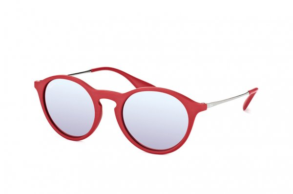 Очки Ray-Ban Youngster Round RB4243-6264-B5 Red | Light Blue