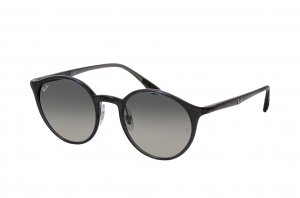 Очки Ray-Ban Youngster Round RB4336-876-71 Black | Natural Green Gradient