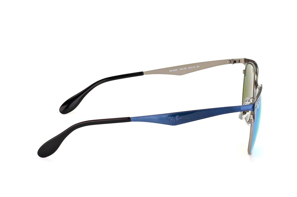 RB3538 189 55   Очки Ray-Ban Clubmaster Metal купить с примеркой   RB.UA a0dde39152