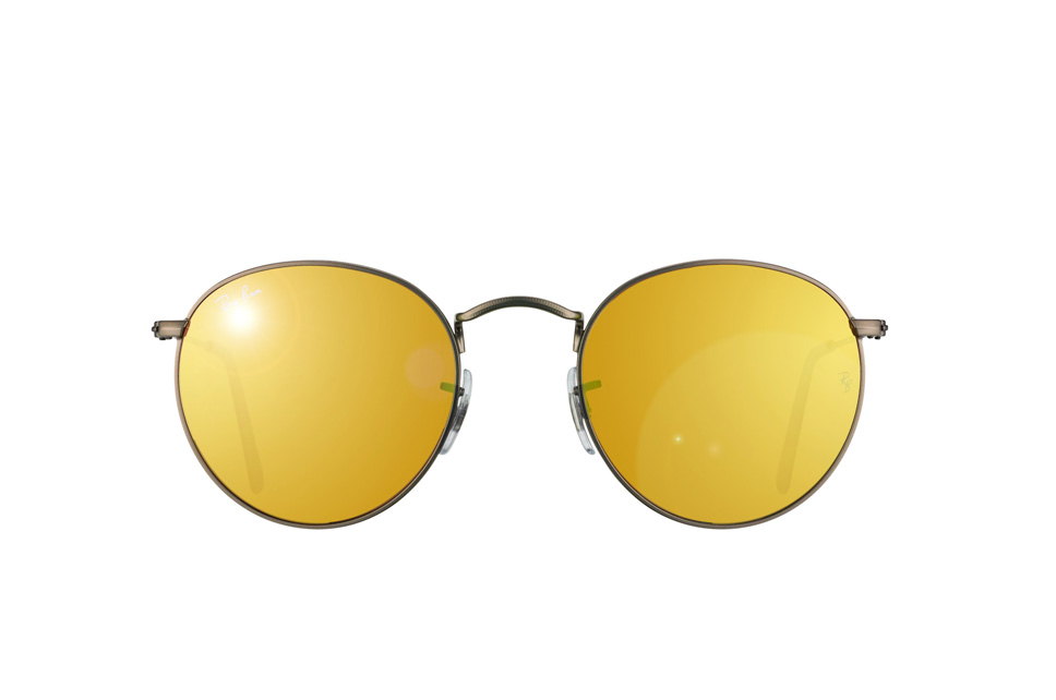 537aa76fab where to buy rb3447 029 93 ray ban round metal flash lenses rb. 3f4da 08a7e