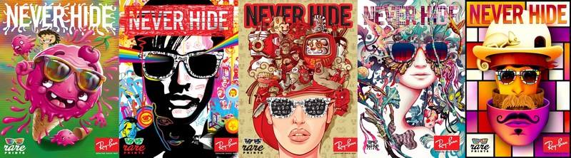 Ray-Ban Never Hide Rare Prints